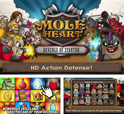 In addition to the game Tower Command HD for Android phones and tablets, you can also download MOLEHEART for free.