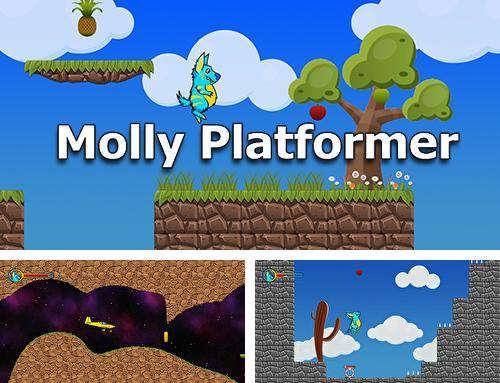 In addition to the game Pixel knight for Android phones and tablets, you can also download Molly platformer for free.