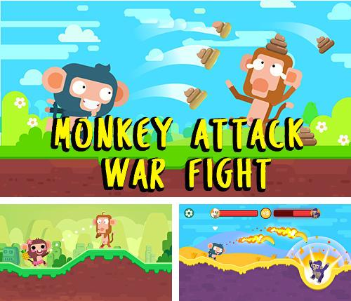Monkey attack: War fight