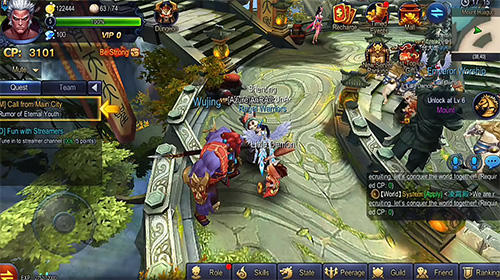 Screenshots von Monkey king: Havoc in heaven für Android-Tablet, Smartphone.