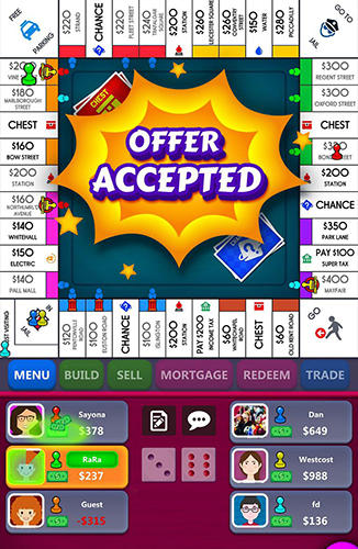 Monopoly screenshot 2
