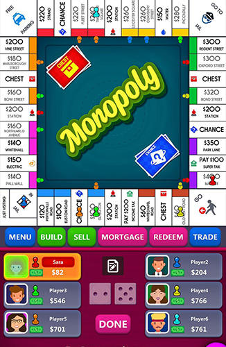 Screenshots von Monopoly für Android-Tablet, Smartphone.