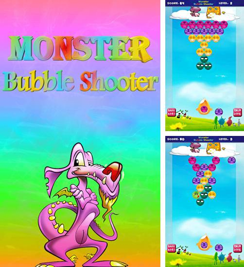 In addition to the game Zombies! Hit and Run! for Android phones and tablets, you can also download Monster bubble shooter HD for free.