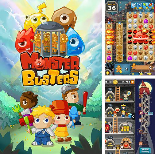 In addition to the game Sampo Lock for Android phones and tablets, you can also download Monster busters for free.