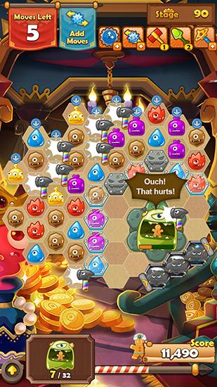 Monster busters: Hexa blast screenshot 5