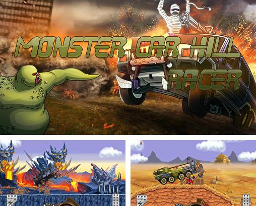 Monster car: Hill racer