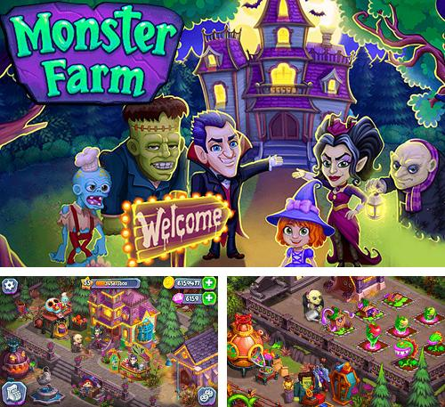 Monster farm: Happy Halloween game and ghost village