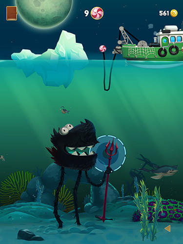 Screenshots do Monster fishing legends - Perigoso para tablet e celular Android.