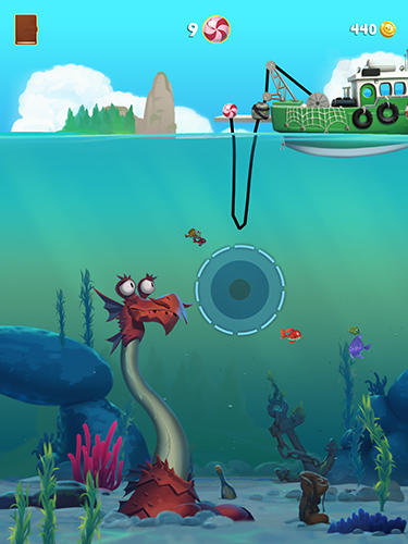Screenshots von Monster fishing legends für Android-Tablet, Smartphone.