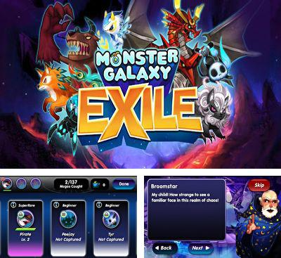 In addition to the game Terapets: The Crazy Scientist for Android phones and tablets, you can also download Monster Galaxy Exile for free.