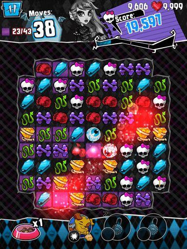 Monster high: Ghouls and jewels für Android spielen. Spiel Monster High: Ghouls und Juwelen kostenloser Download.