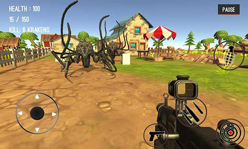 Monster hunting: City shooting screenshot 1