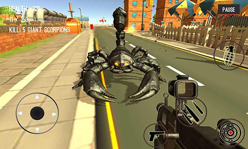 Monster hunting: City shooting screenshot 2