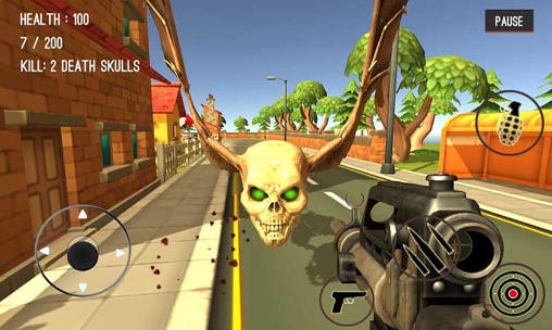 Monster hunting: City shooting screenshot 4