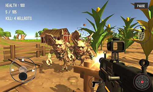 Monster hunting: City shooting screenshot 5
