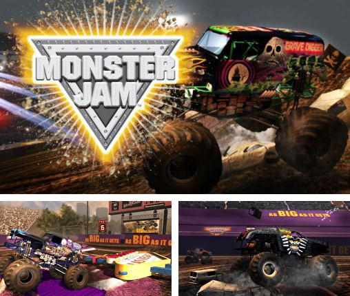In addition to the game Monster truck destruction for Android phones and tablets, you can also download Monster jam for free.