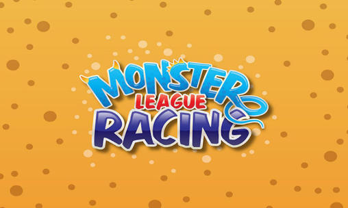 Monster league: Racing poster