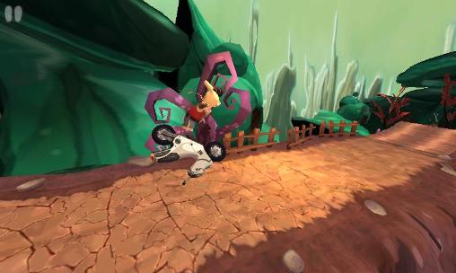 Highway motorbike rider screenshot 1