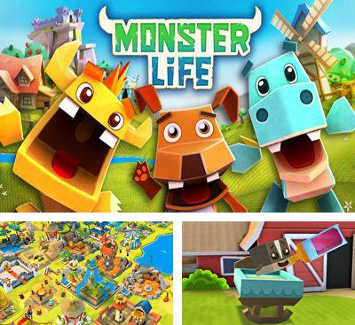 In addition to the game Jetpack War for Android phones and tablets, you can also download Monster Life for free.