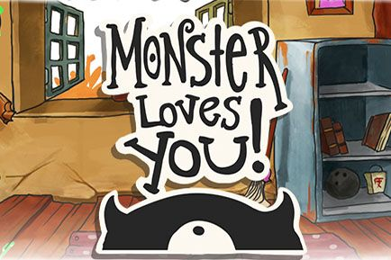Monster loves you poster