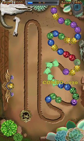 Monster marble blast 2 screenshot 2