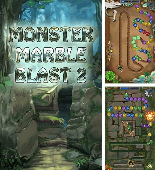 In addition to the game Zuma revenge for Android phones and tablets, you can also download Monster marble blast 2 for free.