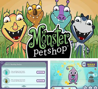 In addition to the game Zombie Cafe for Android phones and tablets, you can also download Monster Pet Shop for free.