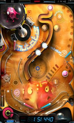 Screenshots of the Monster Pinball HD for Android tablet, phone.