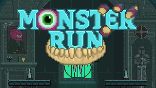 Monster run poster
