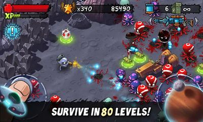 Screenshots von Monster Shooter. The Lost Levels für Android-Tablet, Smartphone.