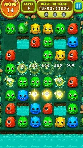 Screenshots von Monster splash für Android-Tablet, Smartphone.