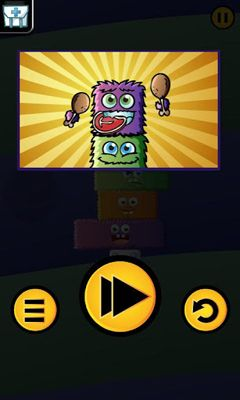 Screenshots of the Monster Stack 2 for Android tablet, phone.