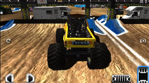 Screenshots von Monster truck demolition für Android-Tablet, Smartphone.