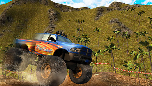 Monster truck offroad rally 3D für Android spielen. Spiel Monster Truck Offroad Rally 3D kostenloser Download.
