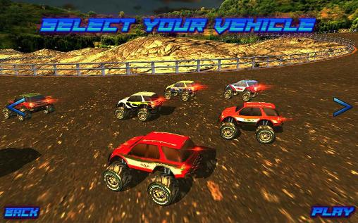 Screenshots von Monster truck racing ultimate für Android-Tablet, Smartphone.