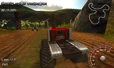 Kostenloses Android-Game Monster Truck Rally. Vollversion der Android-apk-App Hirschjäger: Die Monster Truck Rally für Tablets und Telefone.