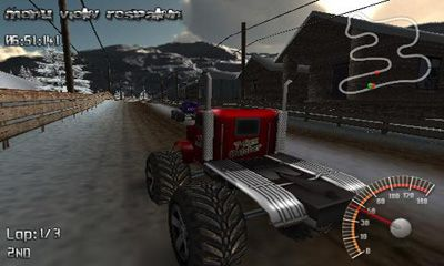 Screenshots von Monster Truck Rally für Android-Tablet, Smartphone.