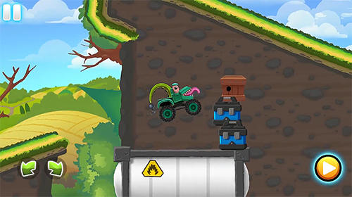 Kostenloses Android-Game Monster Truck Actionrennen. Vollversion der Android-apk-App Hirschjäger: Die Monster trucks action race für Tablets und Telefone.