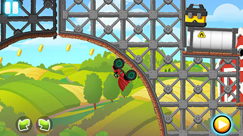 Monster trucks action race für Android spielen. Spiel Monster Truck Actionrennen kostenloser Download.