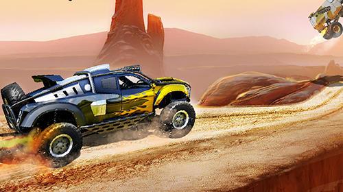 Monster trucks racing screenshot 1