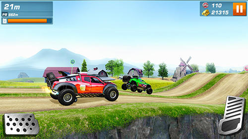 Monster trucks racing screenshot 2