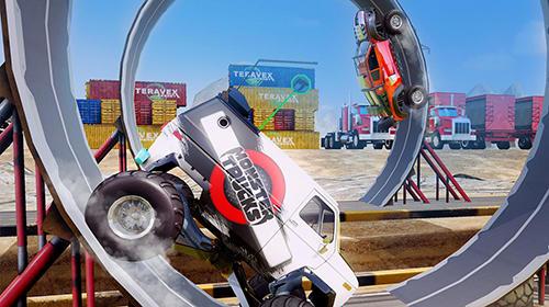 Monster trucks racing screenshot 3