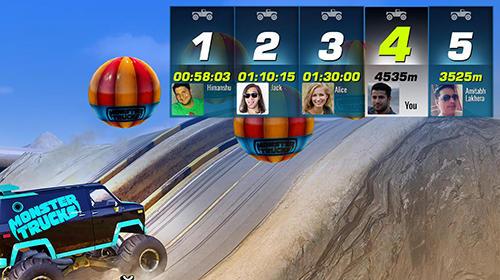 Monster trucks racing screenshot 4