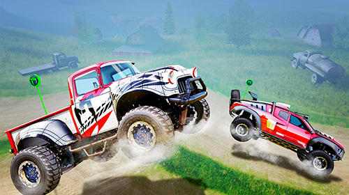 Monster trucks racing screenshot 5