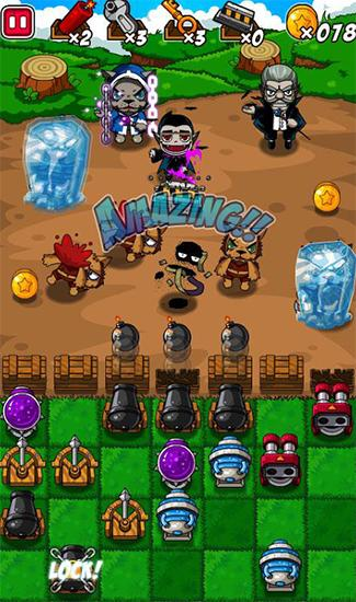 Monster war: Monster defense battle картинка из игры 3