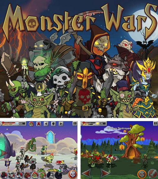 In addition to the game Basketball Shootout for Android phones and tablets, you can also download Monster wars for free.