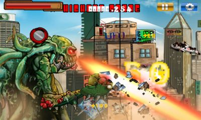 Screenshots of the Monsters Rampage for Android tablet, phone.