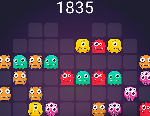 Monstro puzzle: Match 3 screenshot 2