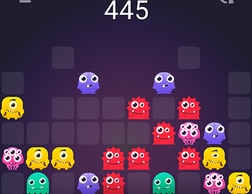 Monstro puzzle: Match 3 screenshot 4