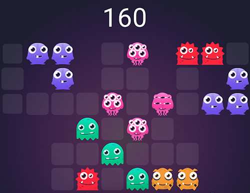 Monstro puzzle: Match 3 screenshot 5